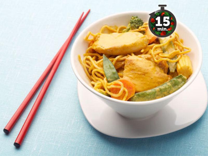 Punainen Curry Kana